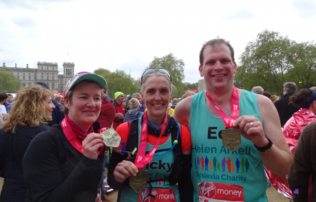 Congratulations to our Marathon Runners!