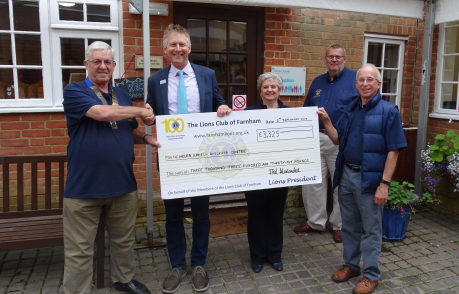 Thank You To The Lions Club of Farnham