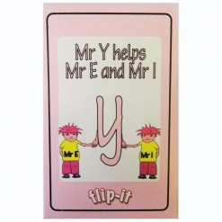 Flip it Card Pack -  Mr Y helps Mr E and Mr I