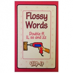 Flip it Card Pack - Flossy Words