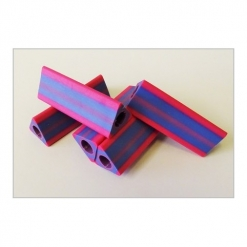 Grip - Triangular Pink/Purple