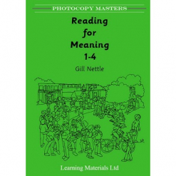 Reading for Meaning Books 1 - 4