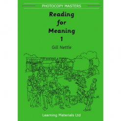 Reading for Meaning Book 1