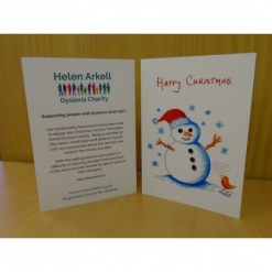 Christmas Cards - 'Snowman' (pack of 5)