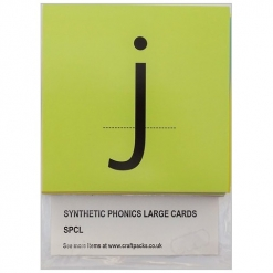Alphabet Cards Phonic Synthetic - Large