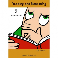 Reading and Reasoning Book 5 test sheets