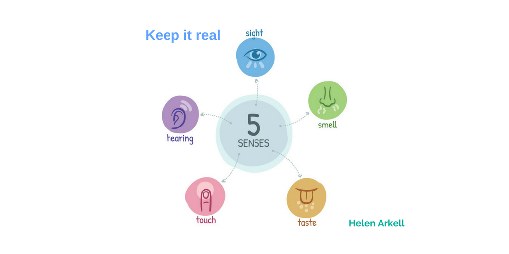Keep it real - Helen Arkell