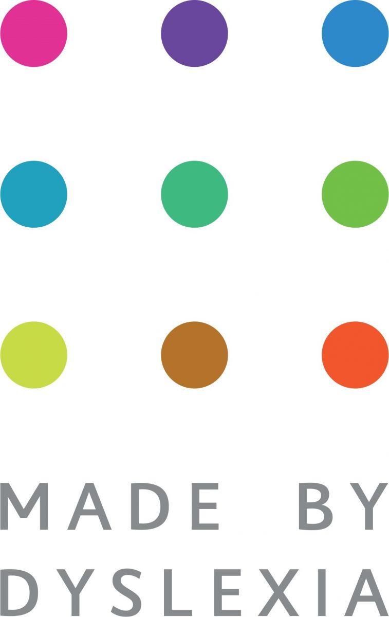 Made by Dyslexia Logo