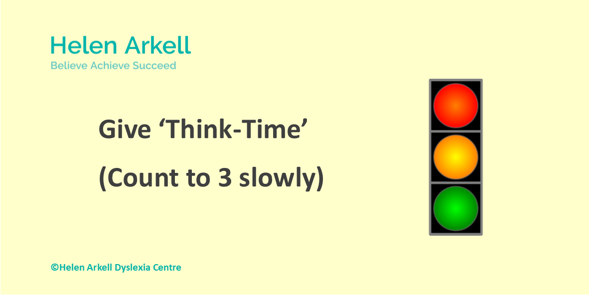 Top Tip No1 DAW 2017 Helen Arkell Give Think-Time