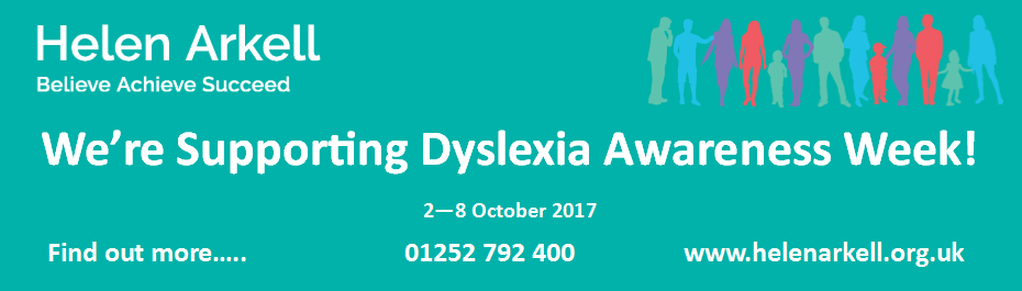 We're Supporting Dyslexia Awareness Week 2017 with Helen Arkell