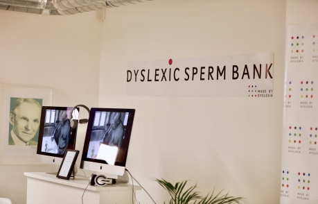 Made by Dyslexia Sperm Bank