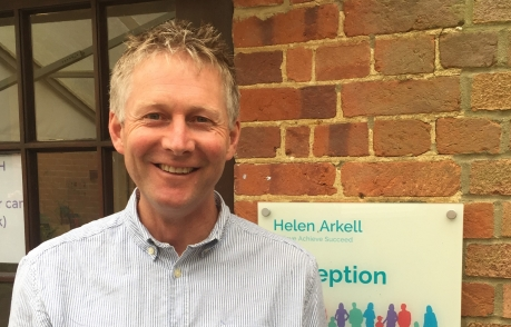 Andy Cook, CEO at Helen Arkell