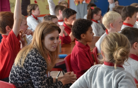 HRH Princess Beatrice at Hale School