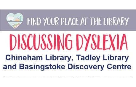 Discussing Dyslexia Hampshire Libraries
