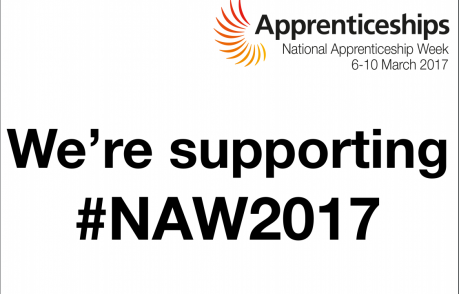 We're supporting National Apprenticeship Week 2017