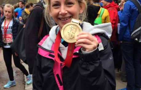 Rhianna London Marathon 2016