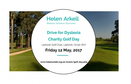 Helen Arkell Drive for Dyslexia Golf Day