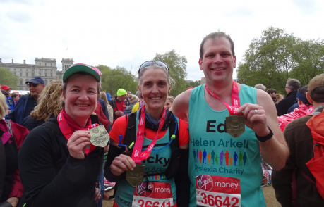 London Marathon runners 2019