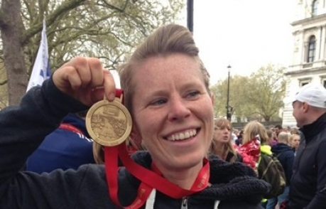 Suzie Topping London Marathon 2016