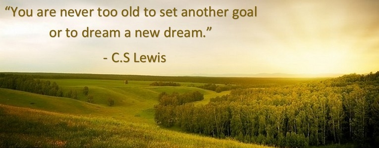 CSLewis you are never too old