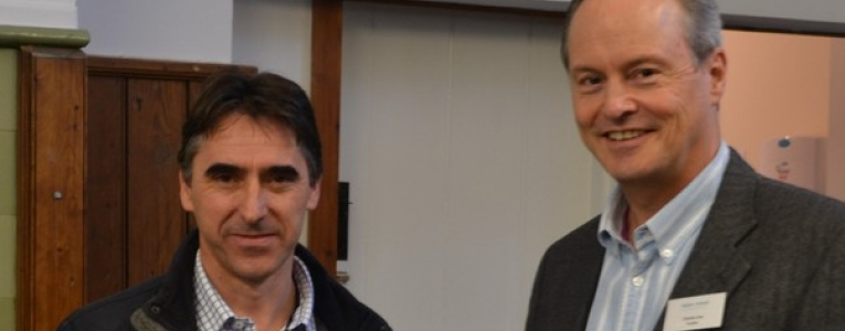 Paul Cowell and Charles Eve