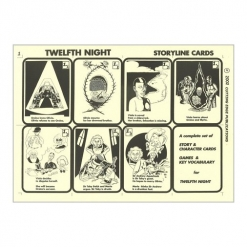 Retold Text Series - Twelfth Night - Game Cards