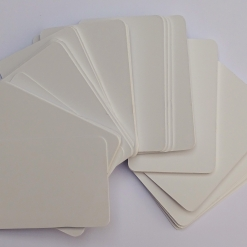 Flash Cards Blank White 100