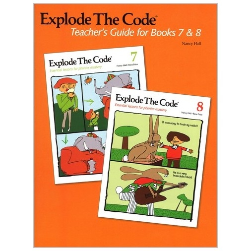 Explode The Code - Teachers Guide 7-8