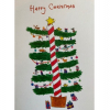 Christmas Cards -'Christmas Tree' (pack of 5)