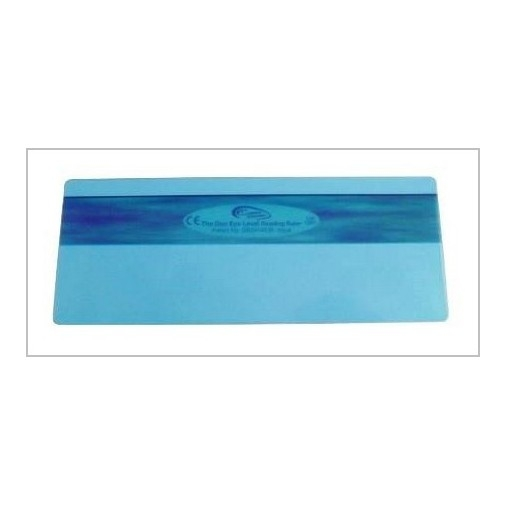 Eye level Reading Ruler - Aqua Blue