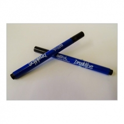 Drywipe Pen Fine Nib Black / Blue