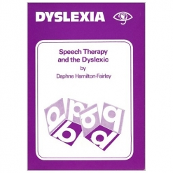 Dyslexia - Speech Therapy and the Dyslexic