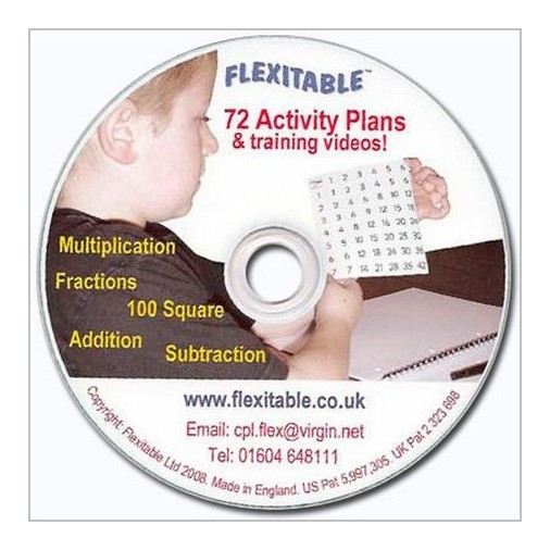 Flexitable CD Multiplication/Addition/Fractions