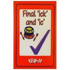 Flip it Card Pack- Final 'ick' and 'ic'