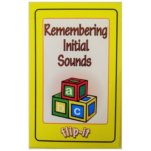 Flip it Card Pack - Remembering Initial Sounds