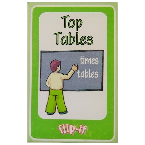Flip it Card Pack - Top Tables