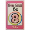 Flip it Card Pack - Times Tables x8