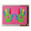 Foam Hands Number Puzzle