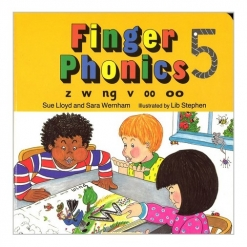 Phonics 2 - Finger Phonics 5