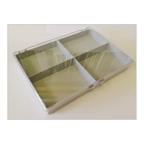 Grey and Perspex Box