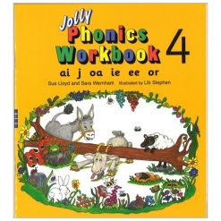 Phonics 3 - Jolly Phonics 4
