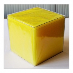Dice - Giant Yellow Foam Pocket