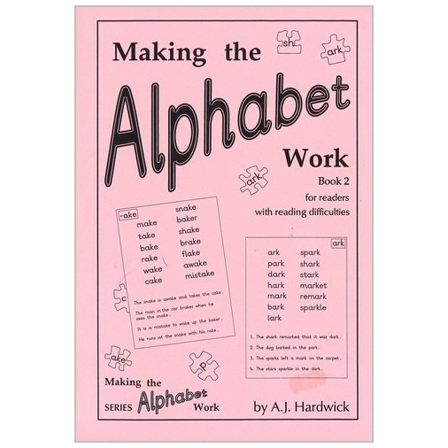 Making the Alphabet Work - Book 2 Age Range 9-13 Years