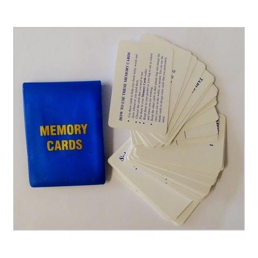 Memory Cards (with Wallet)