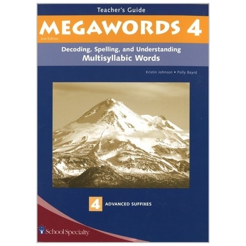 Megawords - Teacher's Guide Book 4