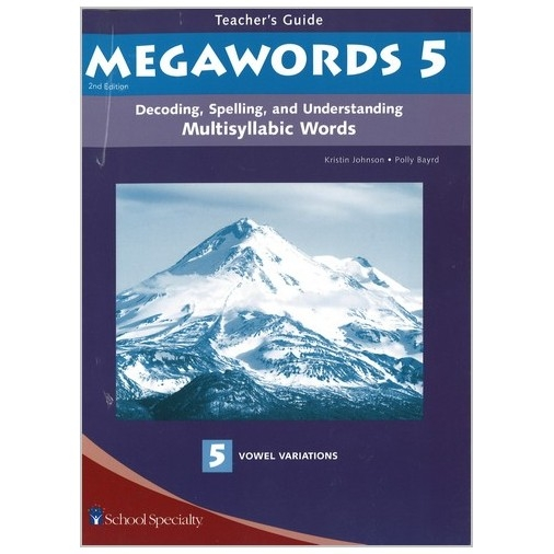 Megawords - Teacher's Guide Book 5