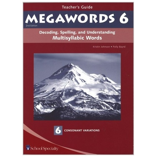 Megawords - Teacher's Guide Book 6