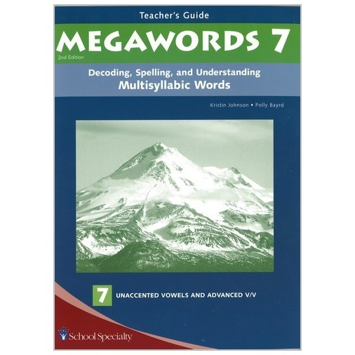 Megawords - Teacher's Guide Book 7