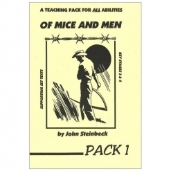 Retold Text Series - Of Mice and Men - Teaching Pack 1