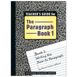 The Paragraph Book - Book 1 Teacher's Guide